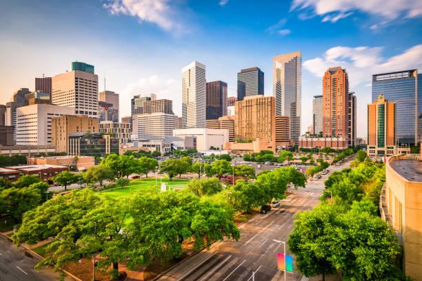 Houston Texas Usa Skyline - Fine Art prints