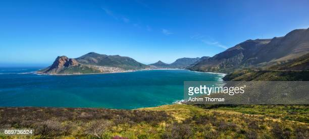 hout bay, cape town, south africa - ruhige szene stock pictures, royalty-free photos & images