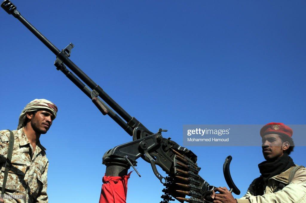 Yemeni Houthi Tribal Gathering : News Photo