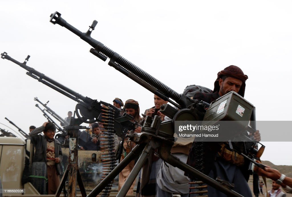 Houthi Gathering In Yemen 2019 : News Photo