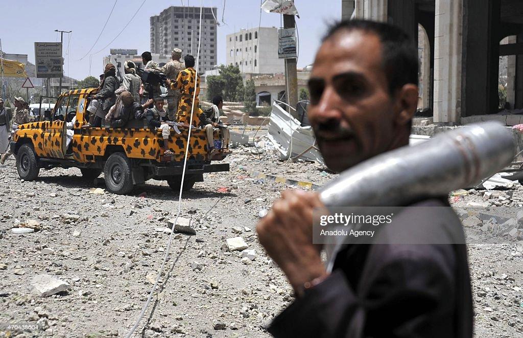 Saudi-led coalition'Decisive Storm' operation in Yemen : News Photo