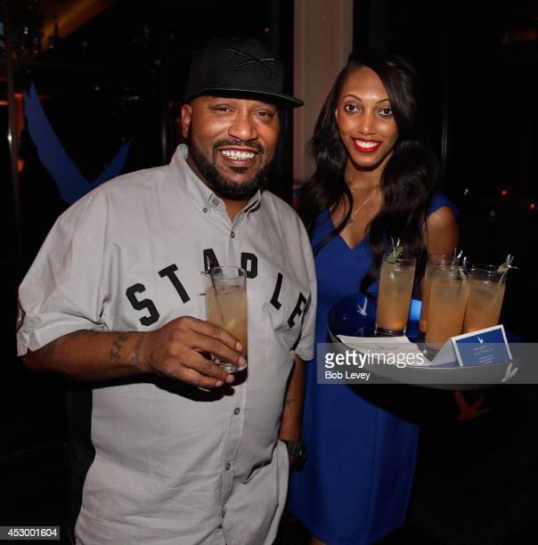 Houton Rap artist Bun B at the UrbanDaddy Presents Grey Goose Le Melon Fruit Of Kings Houston at Hotel Zaza on July 31 2014 in Houston Texas