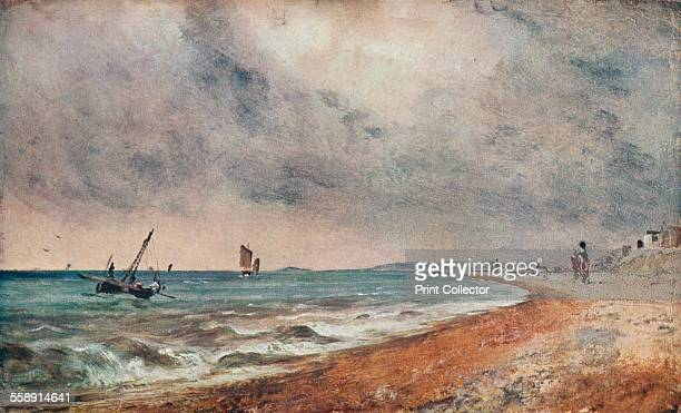 'Hove Beach, with Fishing Boats', c1824. Painting held in the Victoria & Albert Museum, London. From The Connoisseur Volume LXXXIV, edited by C....