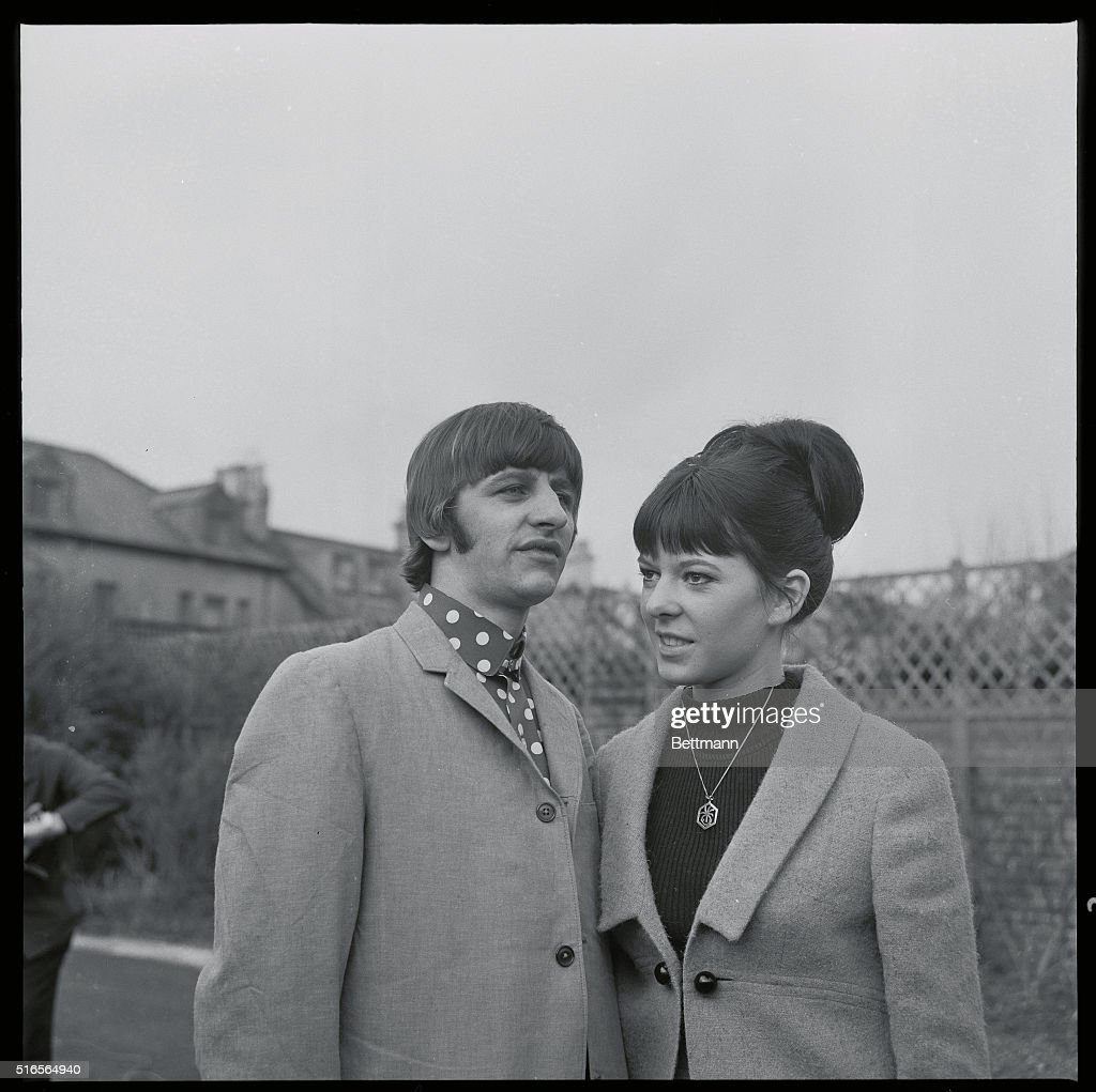 Put Their Heads Together. Beatle drummer Ringo Starr and ...
