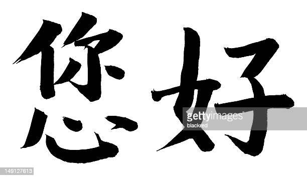 'How Are You' or 'Ni Hao' in Chinese
