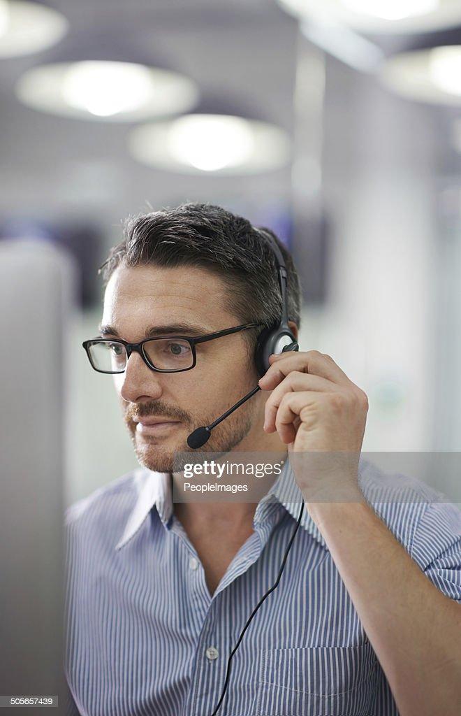 male worker wears headphones - 660×1024