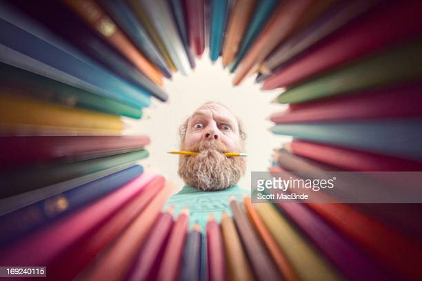 how come you can never find the colour y - scott macbride stock pictures, royalty-free photos & images