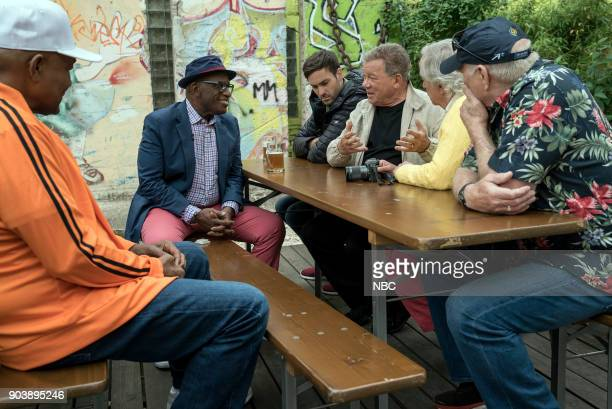 NEVER 'How Do You Say Roots in German' Episode 202 Pictured George Foreman Al Roker Jeff Dye William Shatner Henry Winkler Terry Bradshaw