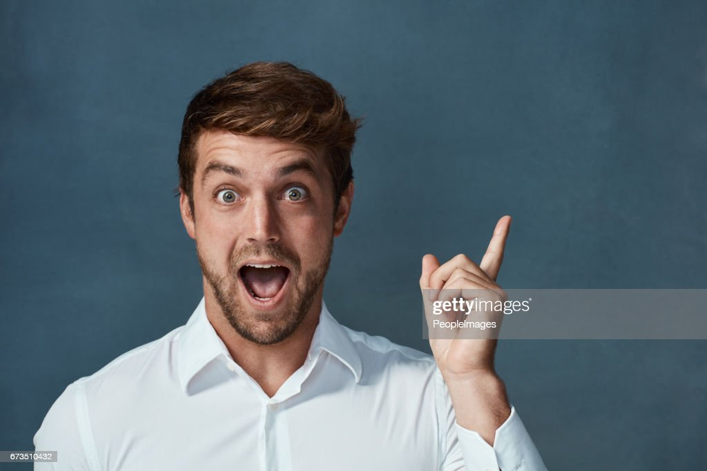 How exciting is this! : Stock Photo