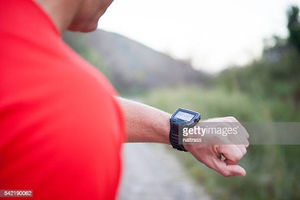 How fast was that run?