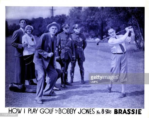 How I Play Golf, lobbycard, BY BOBBY JONES NO. 8: 'THE BRASSIE', Bobby Jones , 1931.