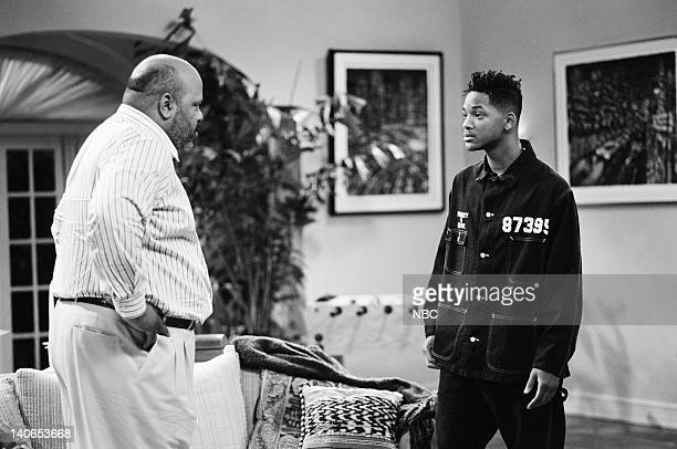 AIR How I Spent My Summer Vacation Episode 1 Pictured James Avery as Philip Banks Will Smith as William 'Will' Smith  Photo by Joseph Del Valle/NBCU...