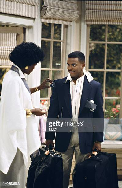 AIR How I Spent My Summer Vacation Episode 1 Pictured Janet Hubert as Vivian Banks Alfonso Ribeiro as Carlton Banks Photo by Joseph Del Valle/NBCU...