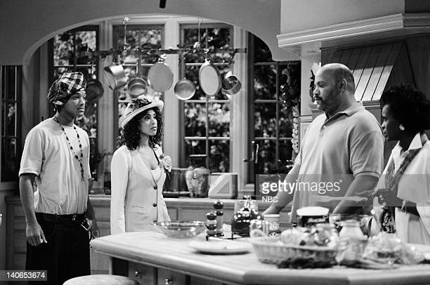 AIR How I Spent My Summer Vacation Episode 1 Pictured Will Smith as William 'Will' Smith Karyn Parsons as Hilary Banks James Avery as Philip Banks...