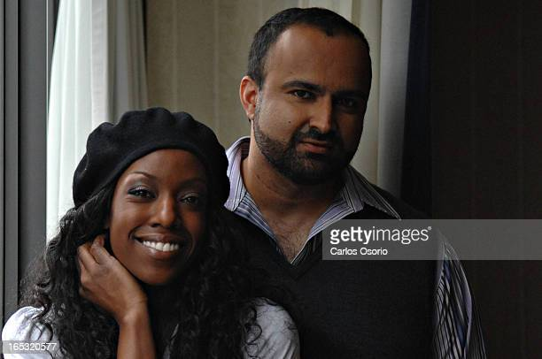 How She Move Actor Tre Armstrong and director Ian Iqbal Rashid pose for a photograph at the Sutton Place hotel in Toronto on Friday January 18, 2008....