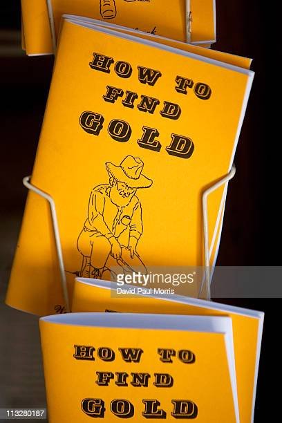 'How To Find Gold' booklets on display at Gold Prospecting Adventures on April 29 2011 in Jamestown California As the dollar continues to fall gold...
