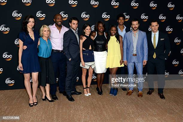 TOUR 2014 How to Get Away with Murder The cast of Walt Disney Television via Getty Images's How to Get Away with Murder at Disney | Walt Disney...
