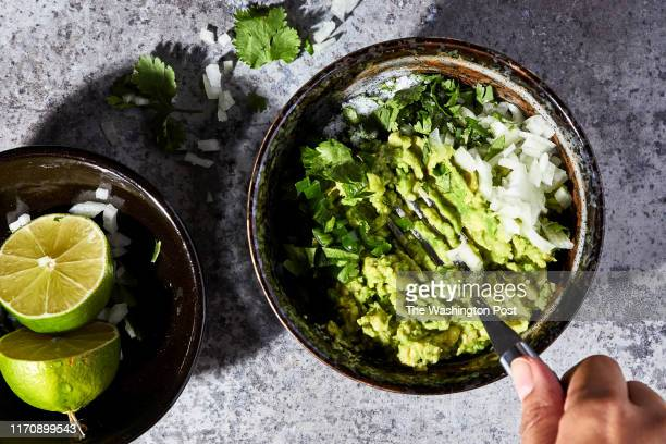 How to guacamole photographed for Voraciously at The Washington Post via Getty Images in Washington DC