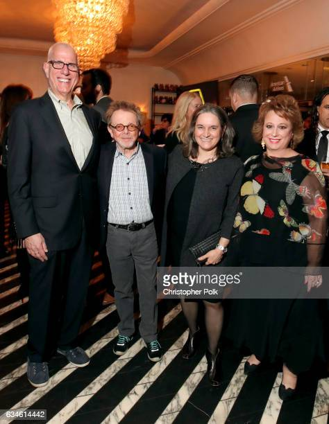 Howard Appelbaum President of Nielsen Entertainment Comsoser Paul Williams Lauren Iossa from ASCAP and Executive Vice President and Group Publisher...