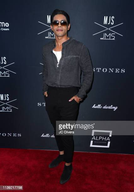 Howard attends Matt Sarafa and Jonathan Marc Stein's new 'Rich' clothing line release and fashion show on March 29 2019 in Los Angeles California