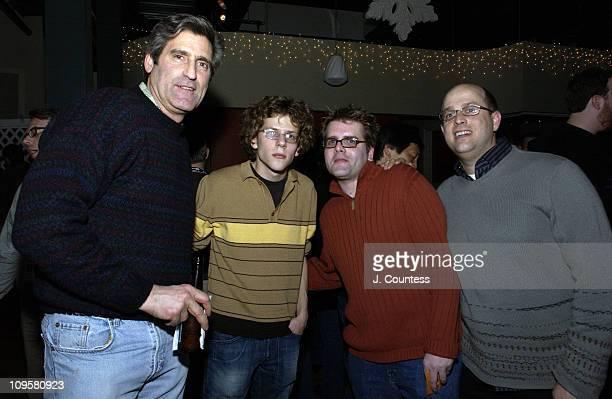 Howard Ballon Jesse Eisenberg Joseph Craig and Aaron Ruell