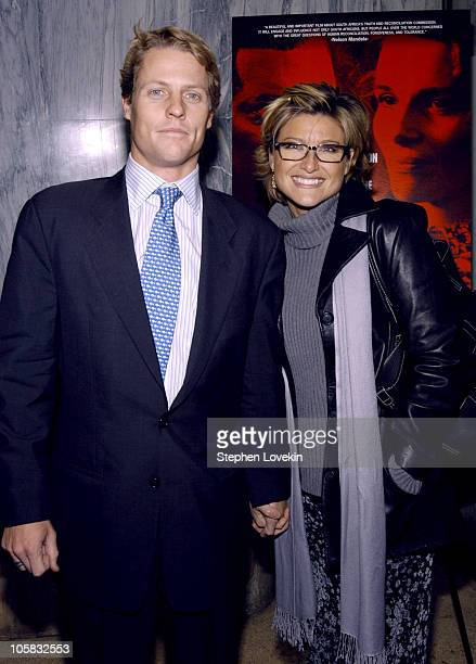 Howard Banfield and Ashleigh Banfield during In My Country New York City Premiere Inside Arrivals at Beekman Theatre in New York City New York United...