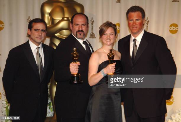 Howard Berger and Tami Lane winners Best Makeup for 'The Chronicles of Narnia The Lion the Witch and the Wardrobe' with Steve Carell and Will Ferrell...