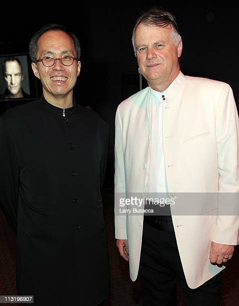 Howard Chua and Michael Elliott attend the TIME 100 Gala TIME'S 100 Most Influential People In The World at Frederick P Rose Hall Jazz at Lincoln...