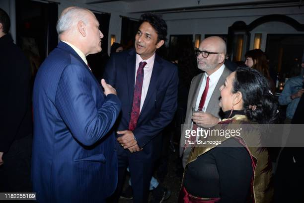 Howard Cohen Ajinkya Deo Bharat Bhise and Swati Bhise attend The Wing Hosts The World Premiere Of Roadside Attractions' The Warrior Queen Of Jhansi...