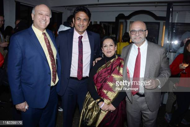 Howard Cohen Ajinkya Deo Swati Bhise and Bharat Bhise attend The Wing Hosts The World Premiere Of Roadside Attractions' The Warrior Queen Of Jhansi...