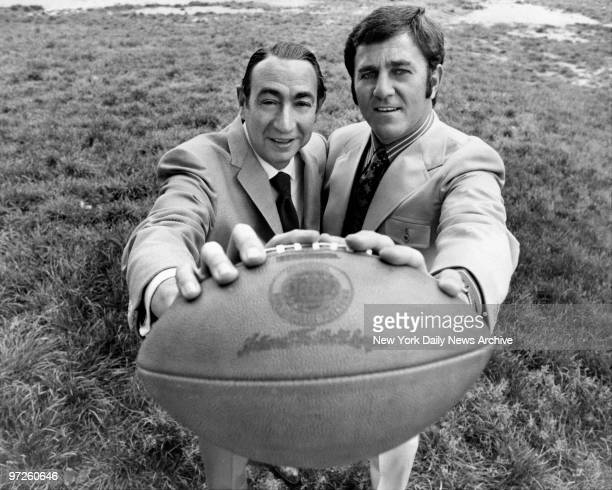 Howard Cosell and Don Meredith will be hosting Monday night football