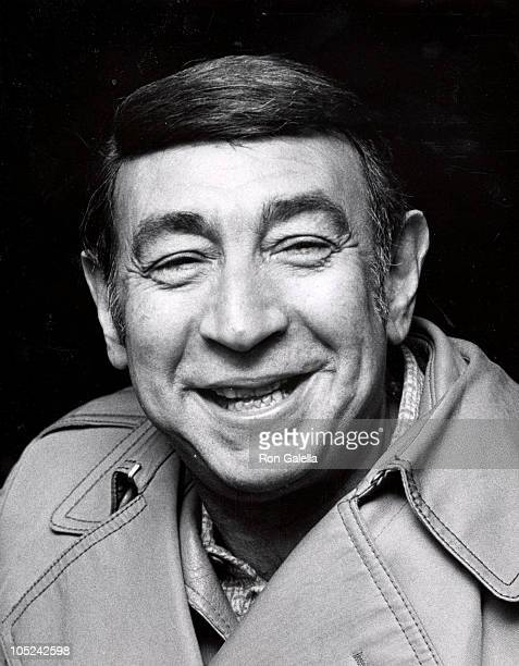 Howard Cosell during Premiere of Cinderella Liberty and Party at Gallagher's in New York City NY United States