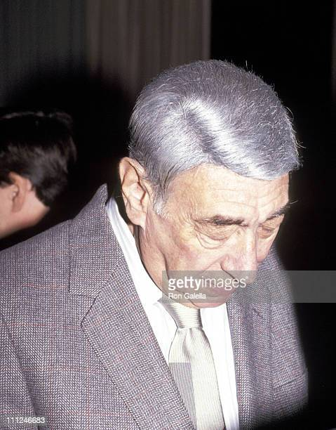 Howard Cosell during The New York Friars Club Honors Richard Pryor at New York Hilton in New York City New York United States