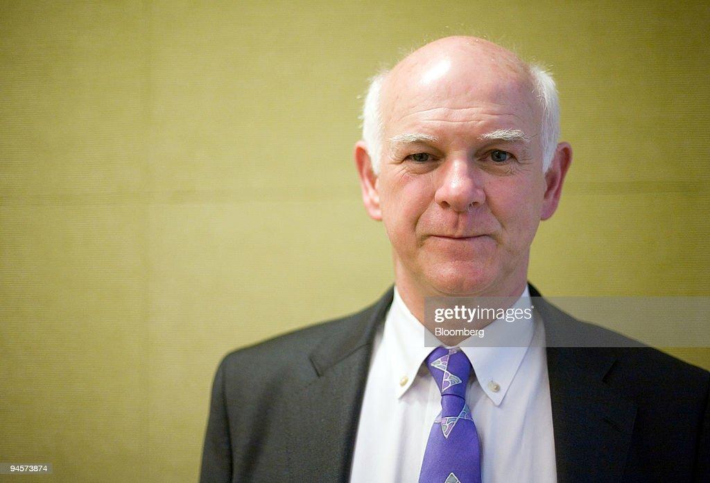 Howard Davies, director of the London School of Economics, p : News Photo
