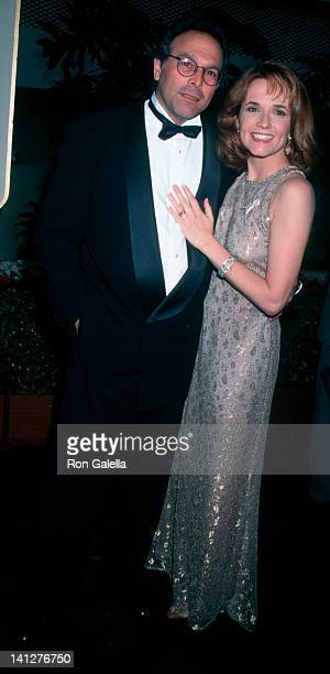 Howard Deutch and Lea Thompson at the 53rd Annual Golden Globe Awards Beverly Hilton Hotel Beverly Hills