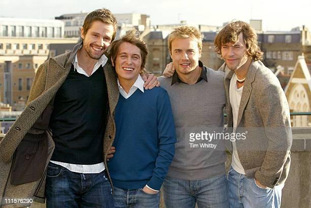Howard Donald Mark Owen Gary Barlow and Jason Orange of Take That