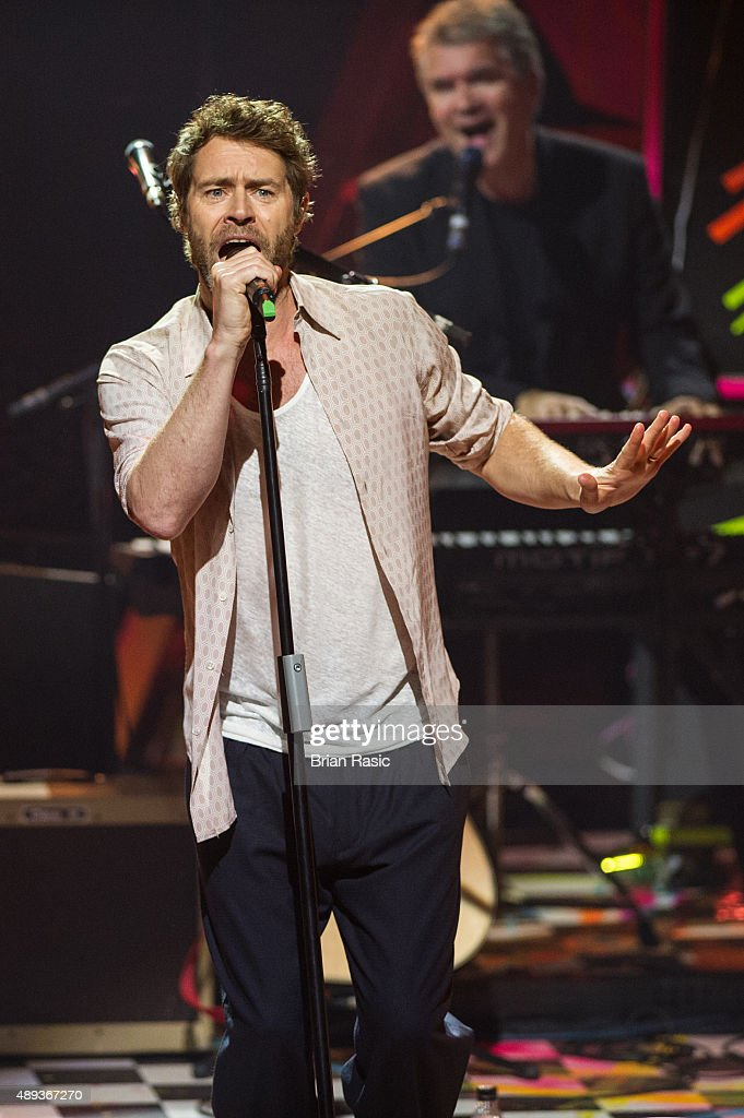 Howard Donald of Take That performs during the 2015 Apple Music Festival at The Roundhouse on September 20, 2015 in London, England.