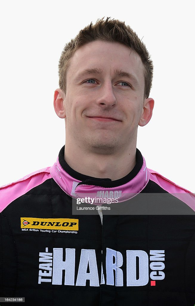 Howard Fuller of PPCGB.com/Kraftwerk Racing poses for a portrait during the BTCC Media Day at Donington Park on March 21, 2013 in Castle Donington, England.