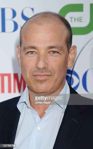Howard Gordon arrives at the TCA Party for CBS, The CW and Showtime held at The Pagoda on August 3, 2011 in Beverly Hills, California.