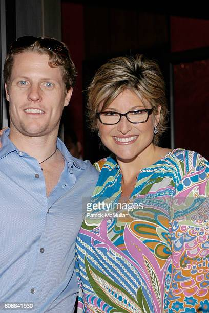 Howard Gould and Ashleigh Banfield attend Bob Weinstein and Harvey Weinstein The New York Observer MoveOnorg Political Action premiere of SiCKO By...