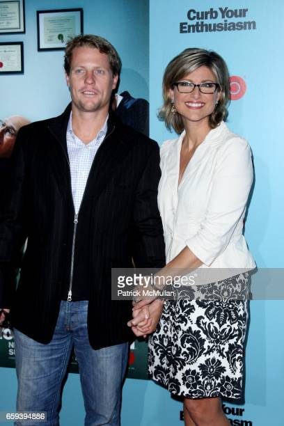 Howard Gould and Ashleigh Banfield attend HBO Celebrates the New Season of CURB YOUR ENTHUSIASM at Time Warner Center on September 30 2009 in New...
