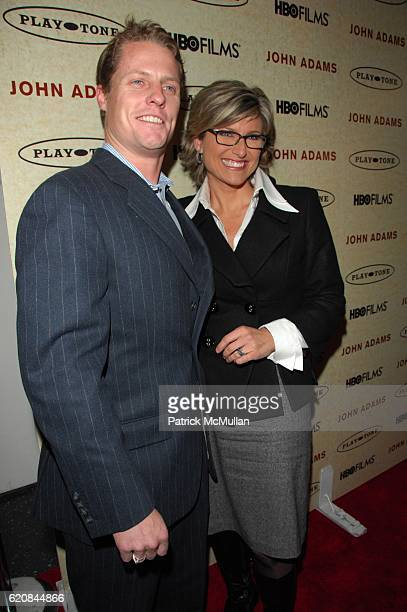 Howard Gould and Ashleigh Banfield attend HBO hosts NY Premiere of JOHN ADAMS at MoMA NYC on March 3 2008 in New York City
