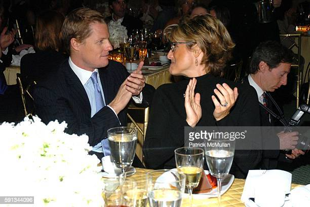 Howard Gould and Ashleigh Banfield attend Modern Bride Celebrates 25 Trendsetters of The Year Awards at The Ritz Carlton on April 12 2005 in New York...