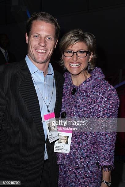 Howard Gould and Ashleigh Banfield attend Premiere of the HBO Documentary LE CIRQUE A TABLE IN HEAVEN at LeCirque on December 3 2008 in New York City