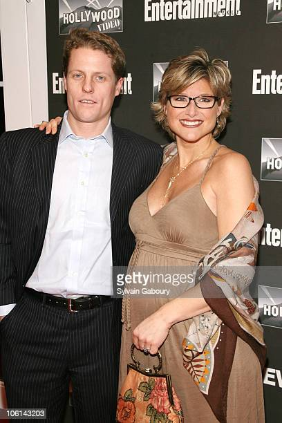 Howard Gould and Ashleigh Banfield during Entertainment Weekly's New York 2007 Oscar Viewing Party at Elaine's at 1703 Second Avenue and 88th Street...