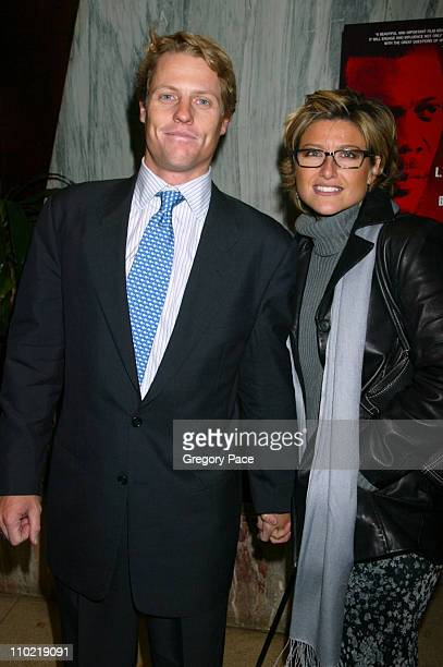 Howard Gould and Ashleigh Banfield during In My Country New York City Premiere Inside Arrivals at Beekman Theatre in New York City New York United...