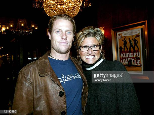Howard Gould and Ashleigh Banfield during Kung Fu Hustle New York City Premiere at Zeigfeld Theater in New York City New York United States