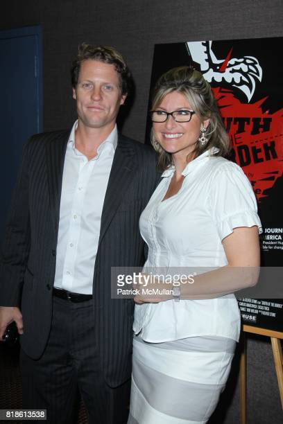 Howard Gould and Ashley Banfield attend New York Premiere of SOUTH OF THE BORDER at Cinema 2 on June 21 2010 in New York City