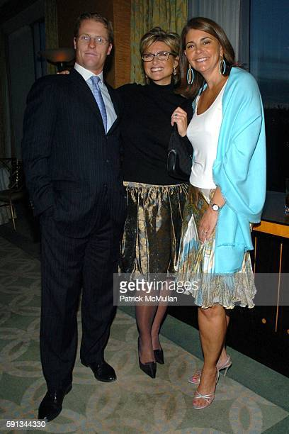 Howard Gould Ashleigh Banfield and Antonia van der Meer attend Modern Bride Celebrates 25 Trendsetters of The Year Awards at The Ritz Carlton on...