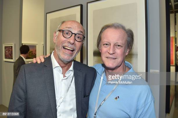 Howard Greenberg and Patrick McMullan attend Art Basel Miami Beach Private Day at Miami Beach Convention Center on December 6 2017 in Miami Beach...